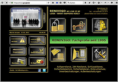 Webseite http://renovigo.at