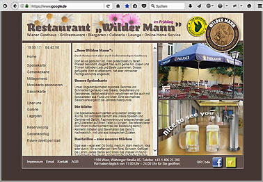 Webseite http://restaurant-wildermann.at
